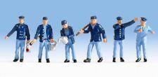 Figurines Noch TT 45282: Conducteur de train et Agents de manœuvre