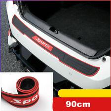 "35"" Car SUV Door Sill Guard Body Bumper Scratch Protector Rubber Pad Cover Trim"