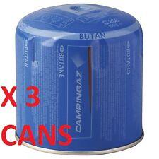 3X GAS REFILL CARTRIDGE 190g C206 fit CAMPINGAZ COLEMAN CAMP GAZ STOVE LANTERN