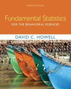 Fundamental Statistics for the Behavioral Sciences 9th Edition