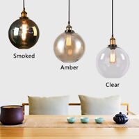 Bar Pendant Light Kitchen Chandelier Lighting Modern Ceiling Lights Glass Lamp