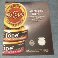 "2008 Copenhagen Tobacco Snuff Ad ""Introducing Cope"""