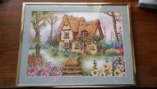 Handmade Gobelin Goblen Spring - with frame Nielsen