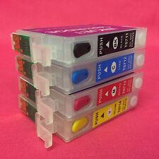 Recargable vacío Multi-userefill Cartuchos de tinta para Epson Stylus SX515W SX 515 W