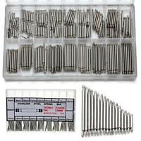 360pcs Watchmaker Watch Band Spring Bars Strap Link Pins Steel Repair Kit Tool