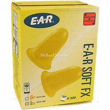 400 Foam Ear Plugs 200 coppie di Ear Soft FX Earplugs tappi per orecchie