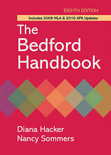 The Bedford Handbook with 2009 MLA and 2010 APA Updates, Sommers, Nancy, Hacker,
