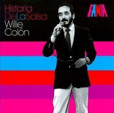 FANIA Salsa RARE CD REMASTERED Limited Edition WILLIE COLON Historia de la Salsa
