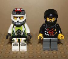 LEGO Mini Figure Minifig Backyard Blasters Racer and Team Extreme Racer