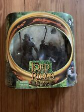 Lotr Toy Biz Uruk-Hai Warrior And Gimli 2 Pack