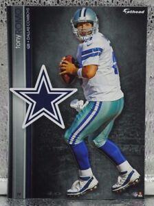 "Tony Romo 5 Fathead Dallas Cowboys 7"" Decal NFL E Illinois Panthers Pro Bowl X"