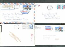 USA 1989,  4 Commercial Covers #C47966