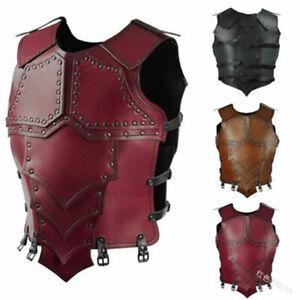 Men Medieval Body  Armor Roman Knight Warrior Cosplay Costume Halloween Clubwear
