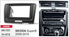 CARAV 11-472 2Din Marco Adaptador Radio Kit Instalacion SKODA SuperB 2008-2015