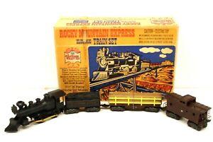 MX Marx O Scale 15640 Rocky Mountain Express William Crooks StP&PRR Freight Set