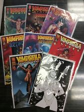Vampirella Job Lot 7 Comics Plus Poster