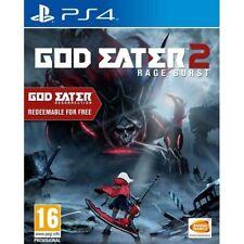 God Eater 2: Rage Burst (Includes God Eater Resurrection) (PS4) New Sealed PAL