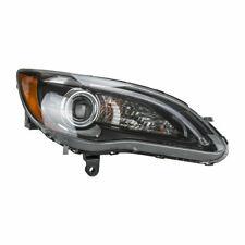 TYC 20-9197-90 Headlight R. Passenger Fits 2011 - 2014 Chrysler 200 BLACK Bezel