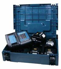 Makita Power Source Kit 4 x Akku 18 V 4 Ah mit Ladegerät im Makpac