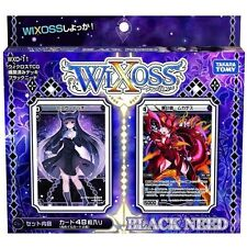 TAKARA TOMY WIXOSS WXD-11 TCG PRE-BUILD DECK BLACK NEED 48 CARDS WX83511