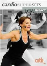 CATHE FRIEDRICH LOW IMPACT SERIES CARDIO SUPERSETS DVD NEW SEALED WORKOUT
