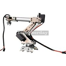 6 Axis S6 Industrial Mechanical Robot Arm Steel Metal Robotic Manipulator Kit