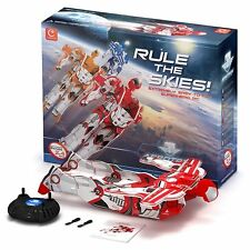 Radio Remote Control Flying Man Aerotron RC 2 Channel Red Plane Ages 3+ Boys Toy