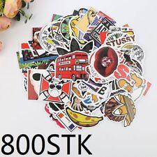 800 X Auto Aufkleber im Set Stickerbomb Gitarreaufkleber Style decals stickers