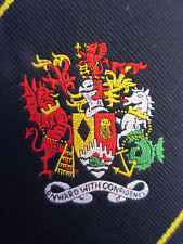 TOYE KENNING & SPENCER LTD OGWR - COAT OF ARMS 3.5 INCH POLYESTER NECKTIE