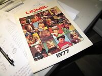 Lionel catalog from 1977