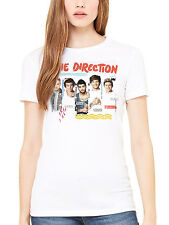 Official One Direction Individual Shots Women's T-Shirt 1D Liam Niall Harry
