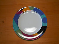 """Mikasa Casual Classics EXHIBIT HG296 Salad Plate 8"""" Blue Green  4 available"""
