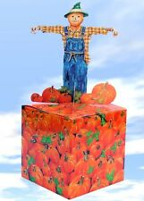 Large Scarecrow & Pumpkin Gift Box - Wrapping Paper
