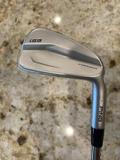 PING I59 Irons 3-PW, D-Gold X-100 Soft Tip One, White Dot +1 Inch RH Power Spec