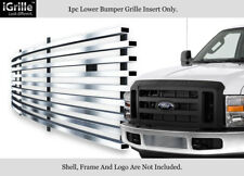 For 2008-2010 Ford F-250/F-350 Super Duty Stainless Bumper Billet Grille
