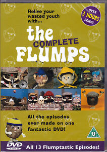 The Complete Flumps DVD (1976) Series OVER 3 HOURS ! All 13 Episodes - RARE !!