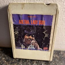 Aretha: Lady Soul Atlantic Recording Group Stereo 8 Track Tape Cartridge