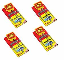4 x THE BIG CHEESE FRESH BAITED MOUSE MICE TRAP 100% CATCH & KILL RATE