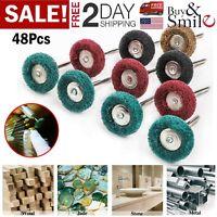 Dremel Rotary Polishing Wheel Buffing Brush Kit Grinding Accessories Tool Bits