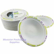 100 x 17cm Super Strong High Quality Chinet Disposable Party Bowls (2 x 50)
