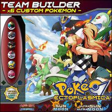 Team Builder 6 Custom Pokemon 6IV Servicio Crianza Equipo 6IVs  XY ORAS SM USUM