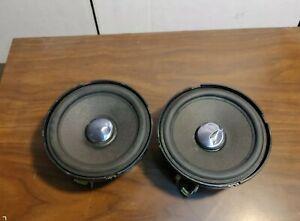 "MB Quart QM 100 MX 4"" Midrange Old School Speakers Made in Germany"