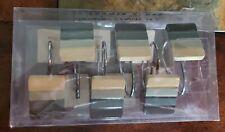 Saturday Knight Limited Set Of 12 Shower Hooks Blue Cream Rectangular