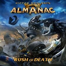 Almanac - Rush Of Death Jewel Case CD+DVD 06.03.20 Vorverkauf / pre sale