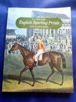 ENGLISH SPORTING PRINTS HORSE RACE - F.L. WILDER 95 COLOUR PLATES BEAUTIFUL