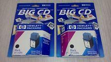 Kit 2 cartuccia HP 51629A originale 29 nero per DESKJET 600c/660c/670c/690c/695c