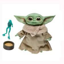Baby Yoda the Child aus Mandalorian  Hasbro Sammelfigur Talking Plush 19 cm