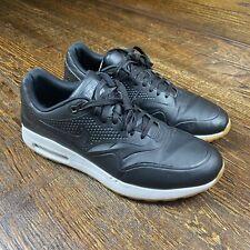 Nike Air Max 1 G AQ0863-001 Black Gum Spikeless Golf Shoes Mens Size 11