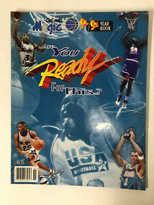 1994/1995 Orlando Magic Official Yearbook - Shaquille O'Neal - Excellent Cond.