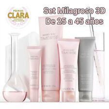 MARY KAY Set Milagroso 3D 4 productos pieles mixtas grasas de 25 a 45 años años.